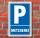 Schild Parken, Parkplatz, Metzgerei, 3 mm Alu-Verbund