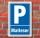 Schild Parken, Parkplatz, Malteser 3 mm Alu-Verbund