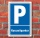 Schild Parken, Parkplatz, Kurzzeitparker 3 mm Alu-Verbund