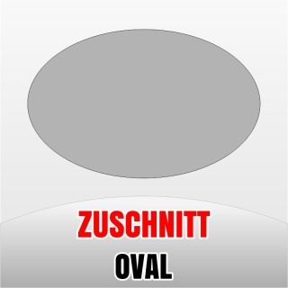 Zuschnitt oval